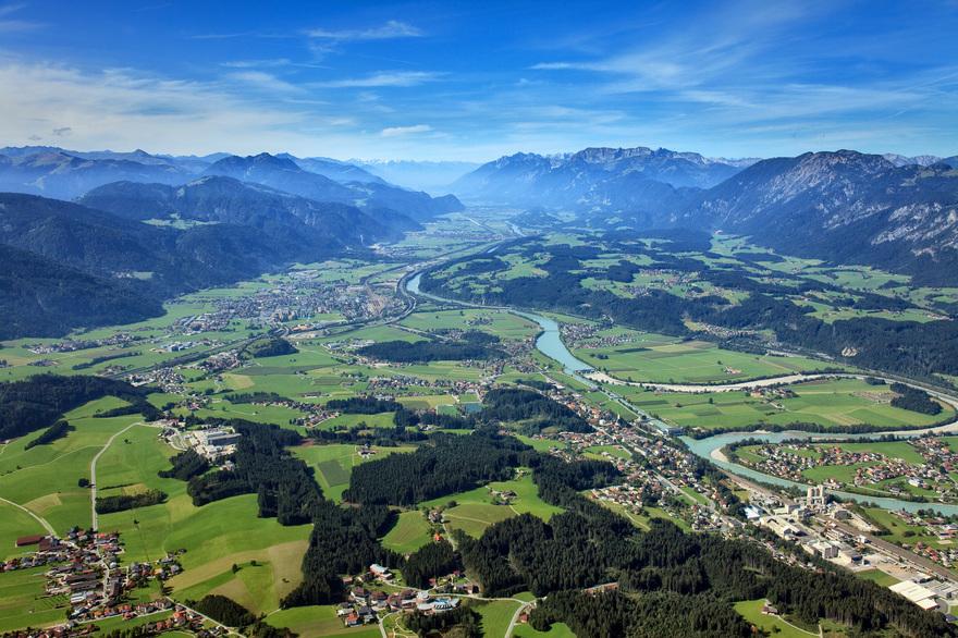 Inntal bei Woergl / Tirol