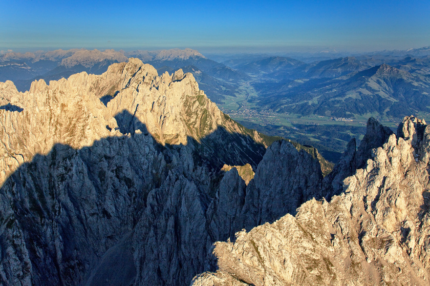 Wilder Kaiser bei Going in Tirol