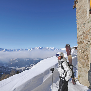 Tourengeher in Osttirol/ Großglockner Resort beiKals-Matrei