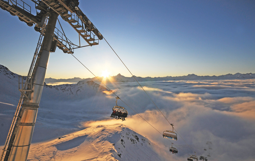 Sessellift in Kals-Matrei / Osttirol