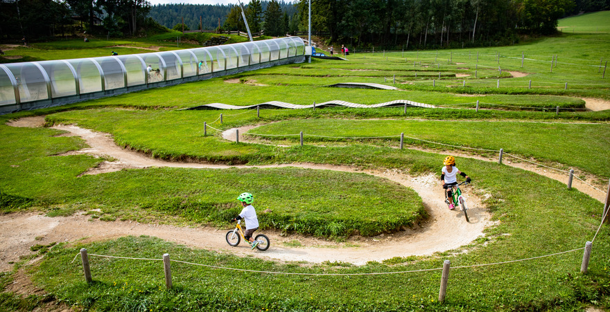 Minibike Park in den Wexl Trails