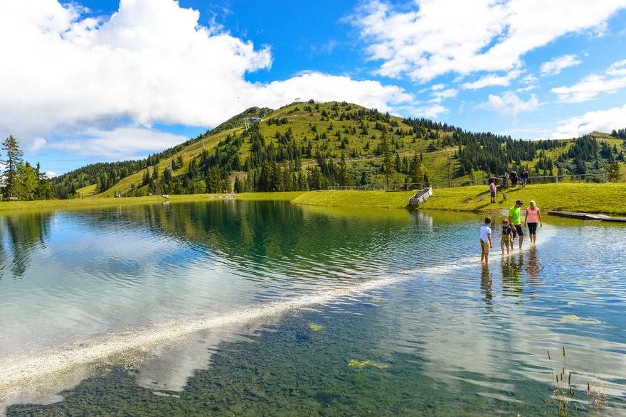 Spiegelsee Fulseck in Dorfgastein