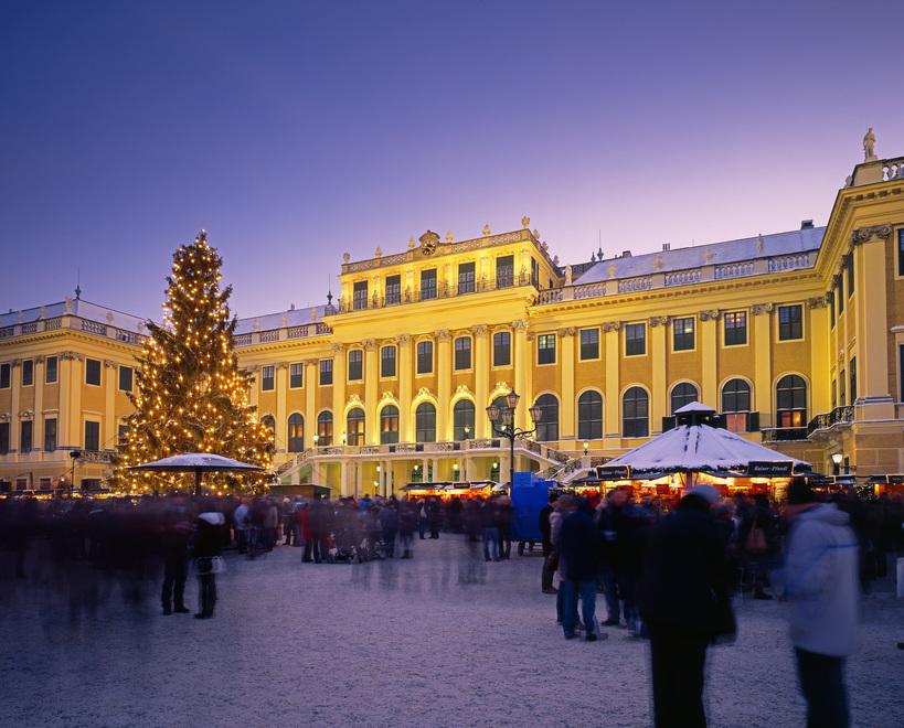 Weihnachtsmarkt, Schönbrunn