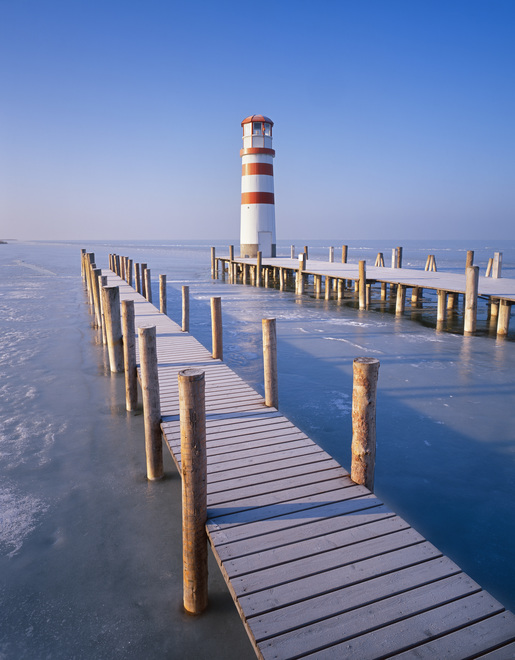 Lighthouse at Lake Neusiedl