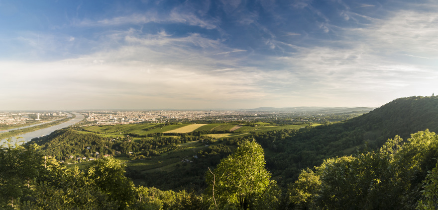View from Leopoldsberg, Vienna