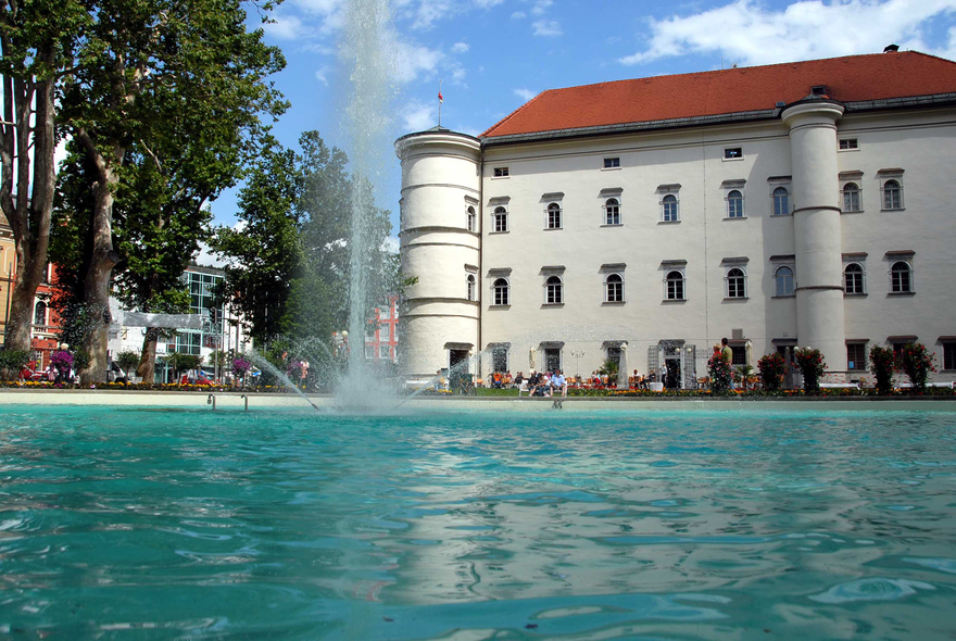 Schloss Porcia in Spittal/Drau, Kärnten. © Tourismusbüro Spittal, Fotograf: Auer