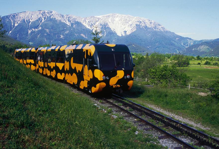 Schneebergbahn in Puchberg