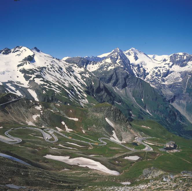 Mount Grossglockner High Alpine Road Road to the pass