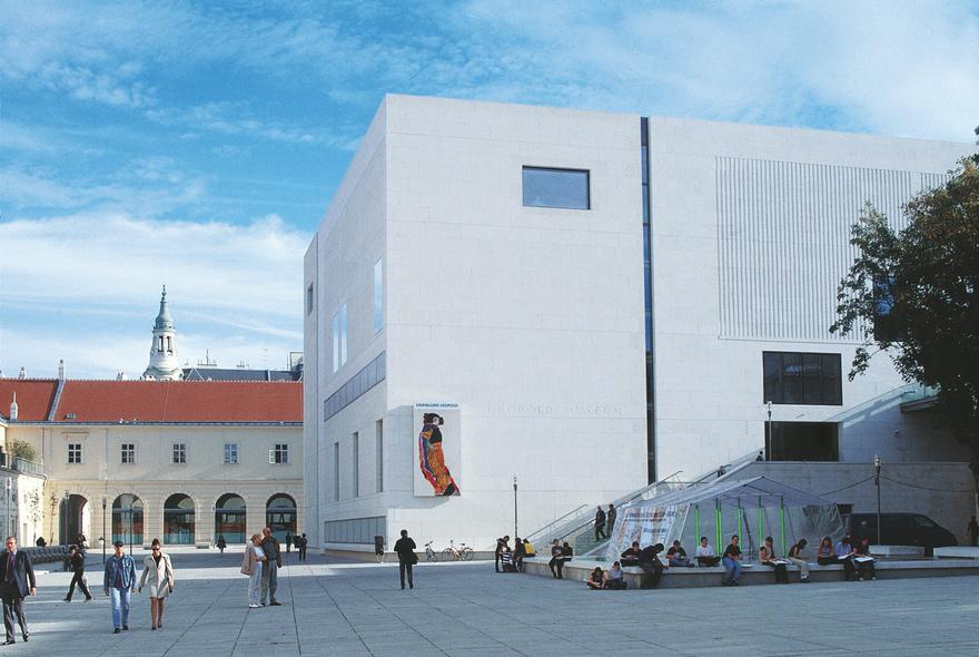 Museumsquartier in Wien / Museum Leopold