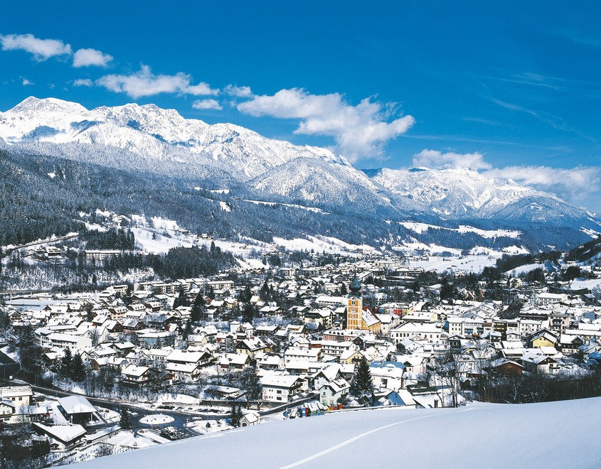 Schladming   Styria wintertime
