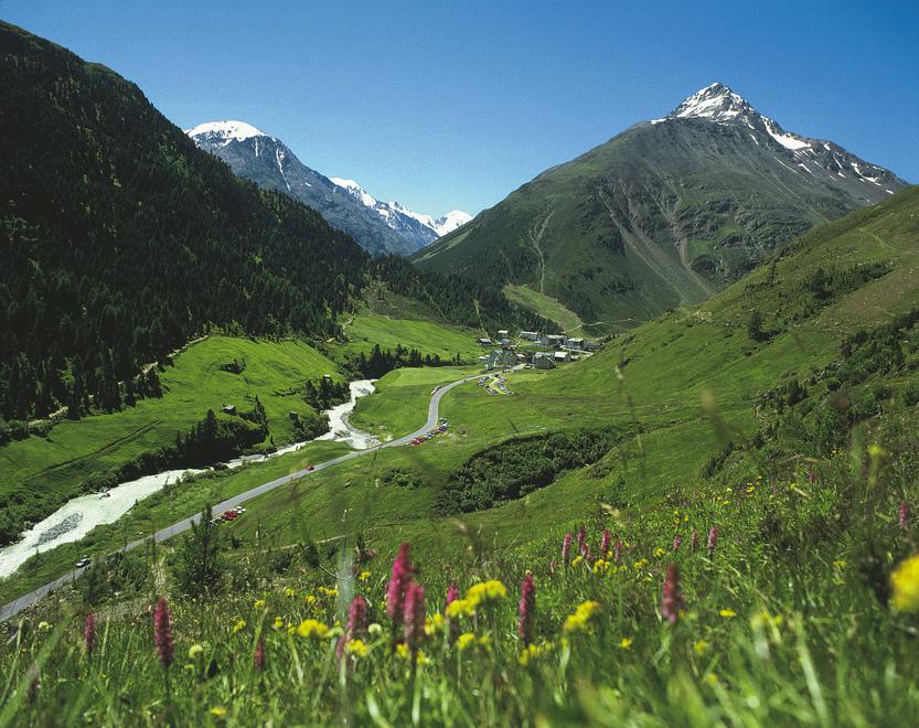 Vent im Ventertal / Region Oetztal / Tirol