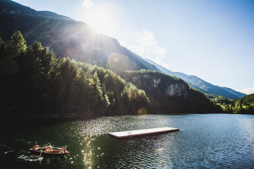 Badesee Piburgersee im Ötztal
