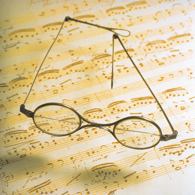 Spectacles of Franz Schubert / Birthplace
