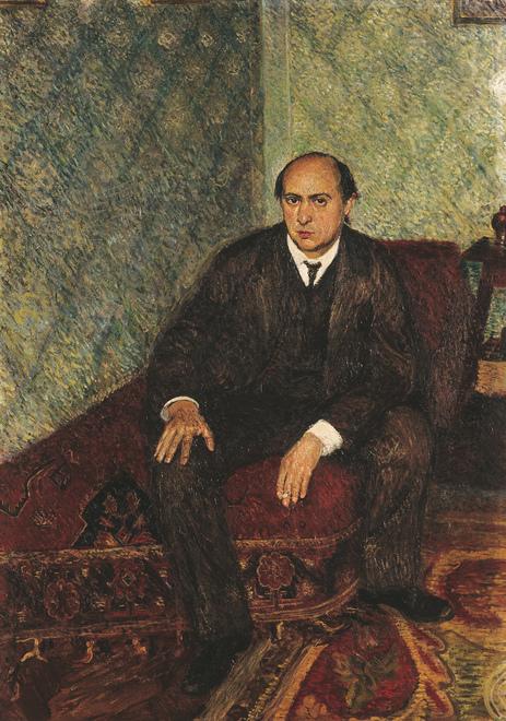 Arnold Schönberg / Gemälde des Komponisten