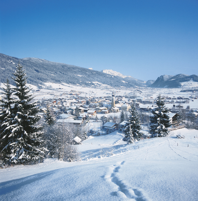 Altenmarkt in Pongau Winter landscape