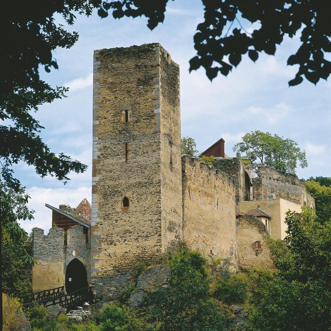 Ruine Kaja bei Merkersdorf
