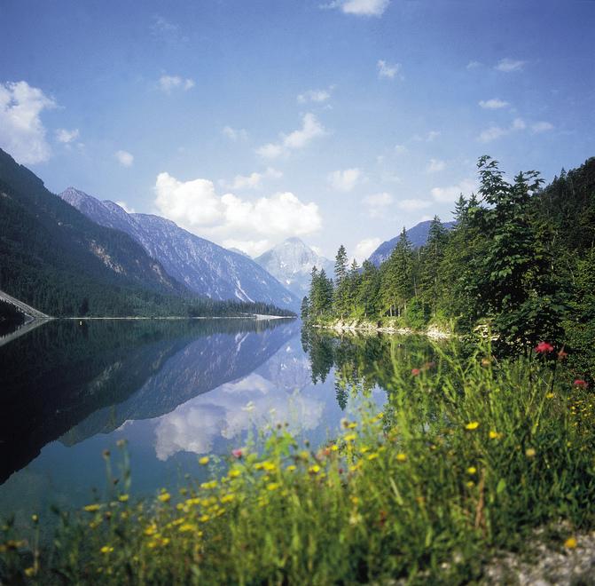 Plansee bei Reutte in Tirol © Österreich Werbung, Fotograf: Gruenert