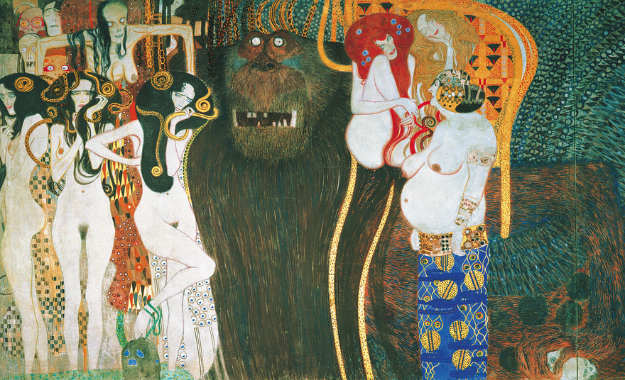 Beethovenfries / Gustav Klimt / Secession in Wien
