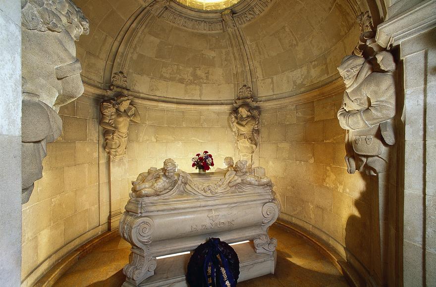Grab von Joseph Haydn in Eisenstadt / Bergkirche