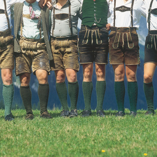 Lederhosen in Bad Aussee