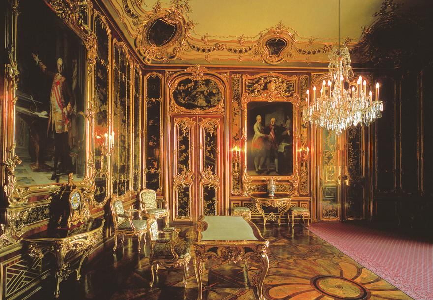 Vieux-Laque-Salon / Schloss Schönbrunn