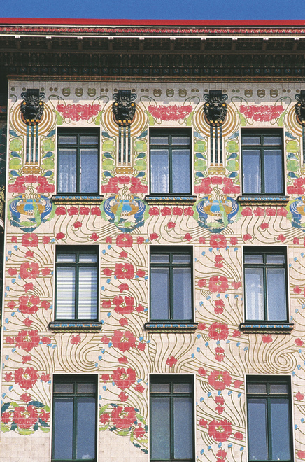 """Majolikahaus"" by Otto Wagner"