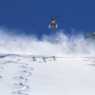 Heli-Skiing am Arlberg
