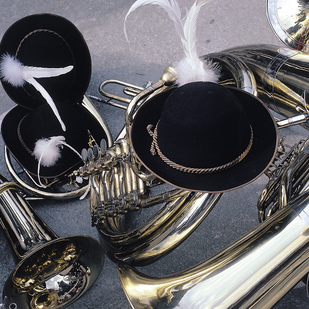 Musical instruments Bras band