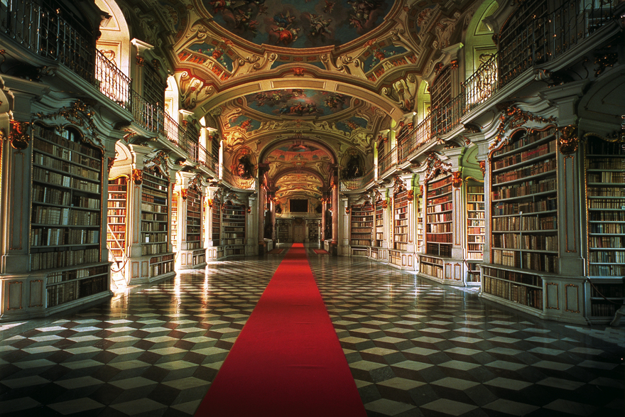 Admont Monastery Library Styria
