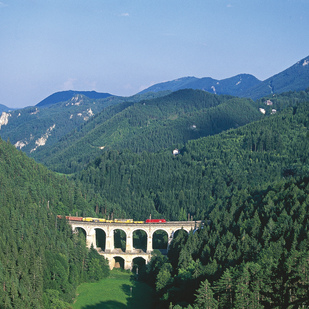 Railway in the Semmering area