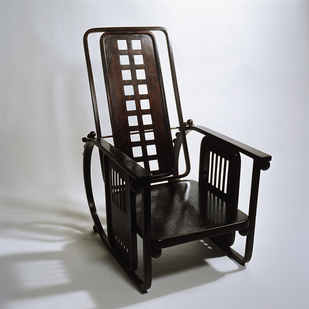Chair  1905  by J. Hoffmann / MAK-Museum for Applied Arts