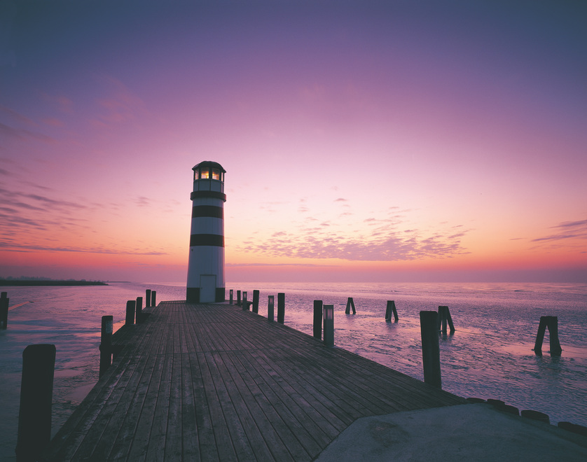 Lighthouse in Podersdorf / Lake Neusiedl / Burgenland