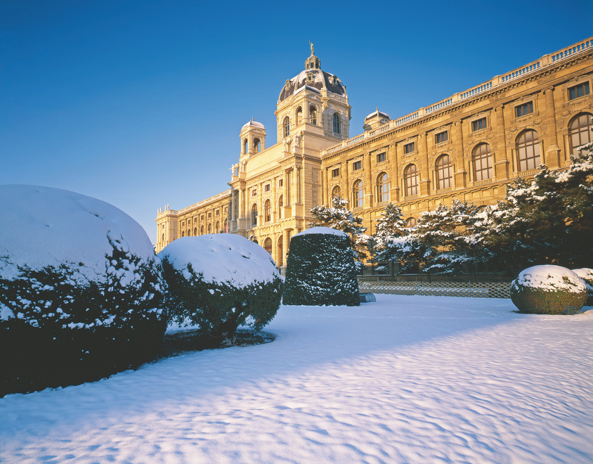 Museum of Natural History in Vienna / Winter