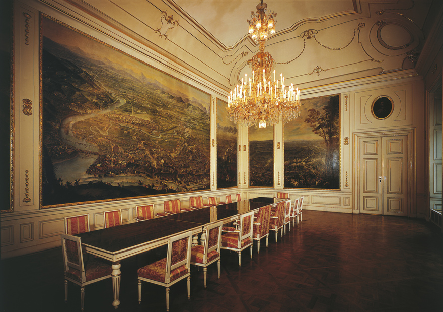 The Winter Palace of Prinz Eugene / Hall of Battle