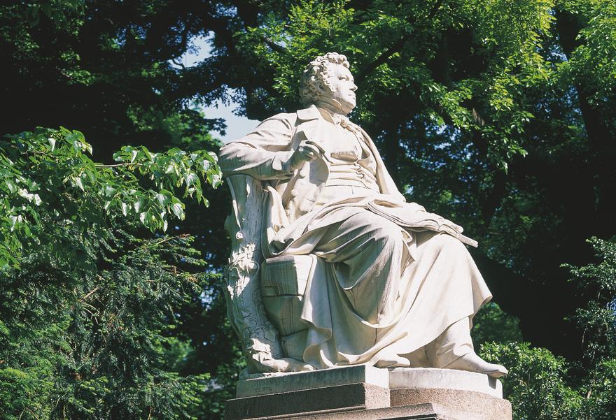 Franz Schubert Denkmal im Stadtpark in Wien
