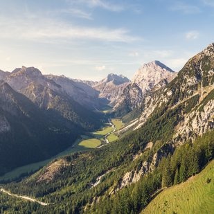 Bergpanorama in der Region Achensee