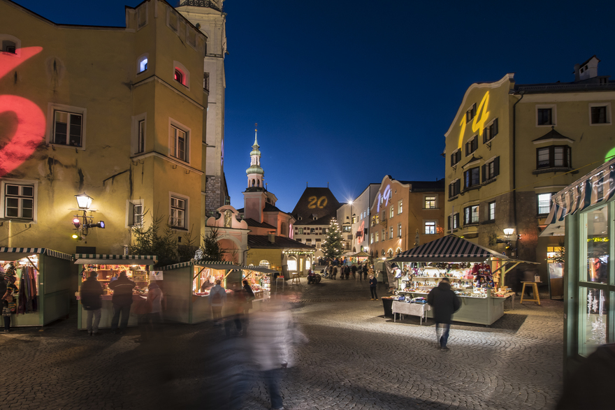 Adventmarkt Hall in Tirol