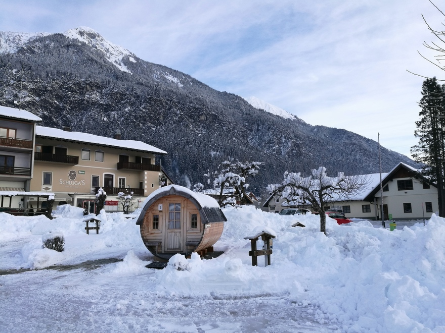 Barrel lodges at Schluga Camping Hermagor in Carinthia