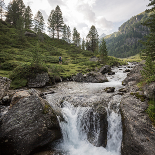 Hiking in the Schobergruppe in the Hohe Tauern East Tirol National Park