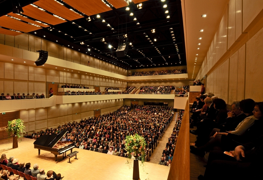 Grafenegg - auditorium concert photo
