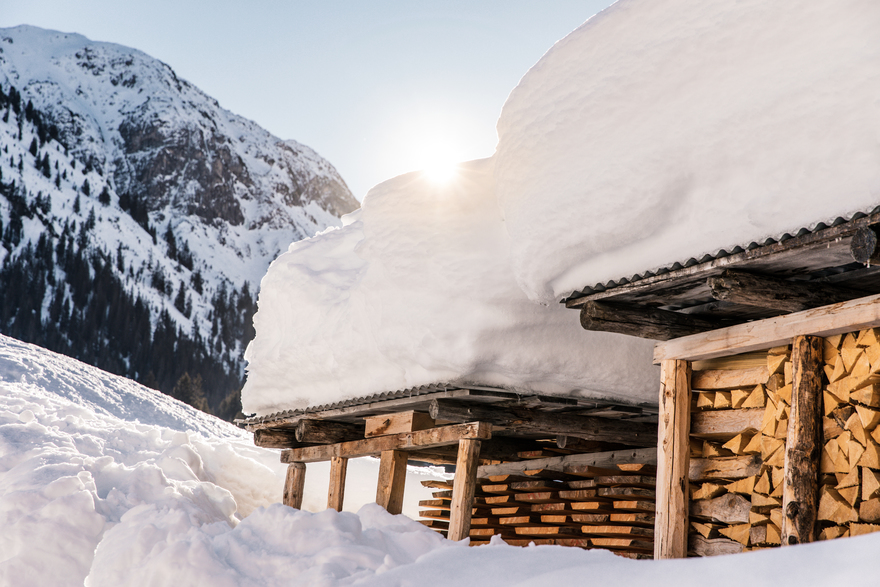 winter holidays in chalet in Lech am Arlberg