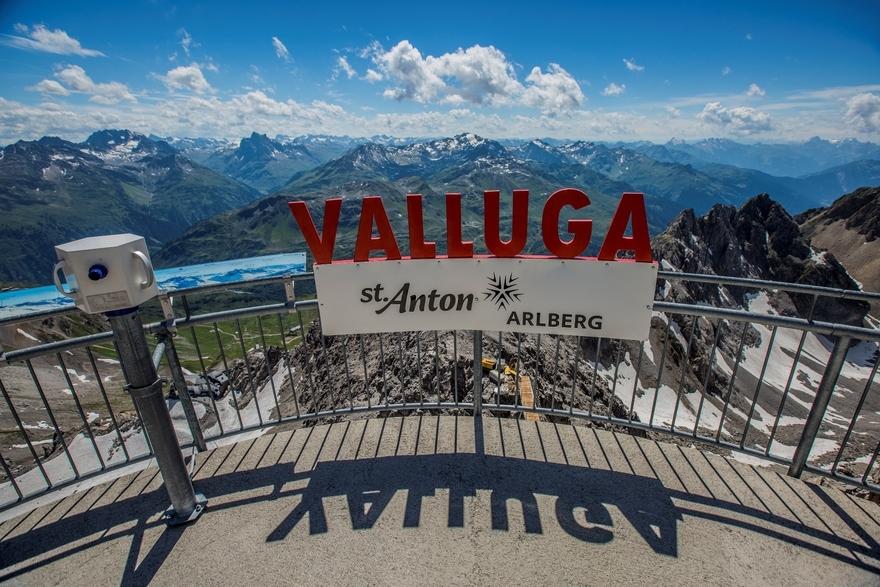 Valluga Aussichtsplattform, St. Anton am Arlberg