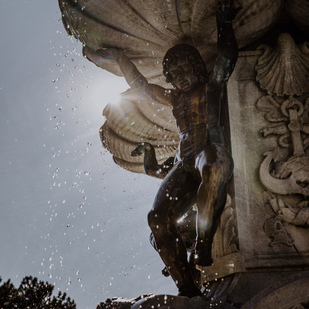 A tour around the city of Innsbruck - Leopold's fountain