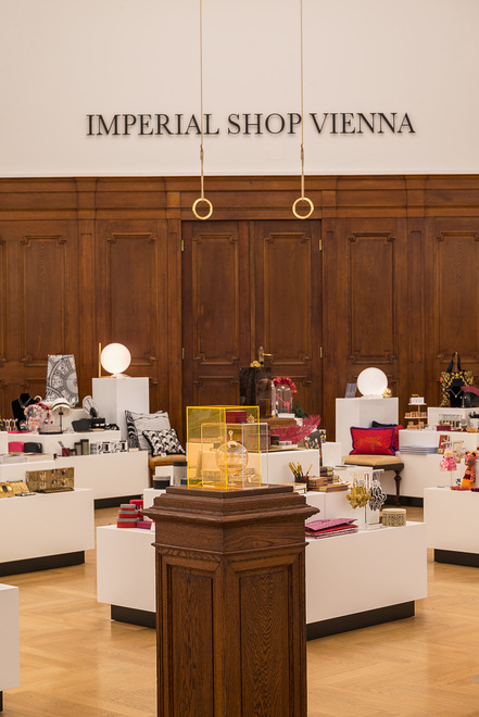 Imperial Shop Vienna - interior view