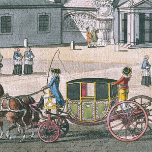Coach around 1790