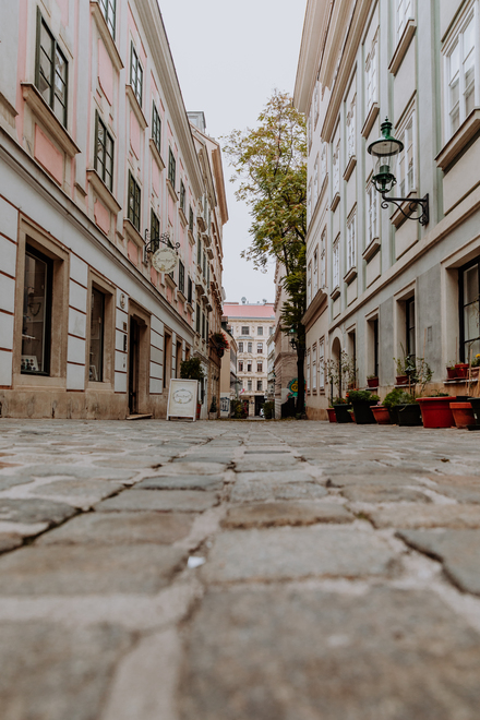 A tour around the city of Vienna - Spittelberg