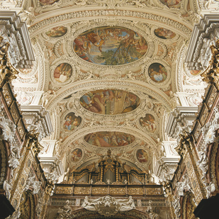 Monastery of Schlierbach Ceiling of the Church Upper Austria
