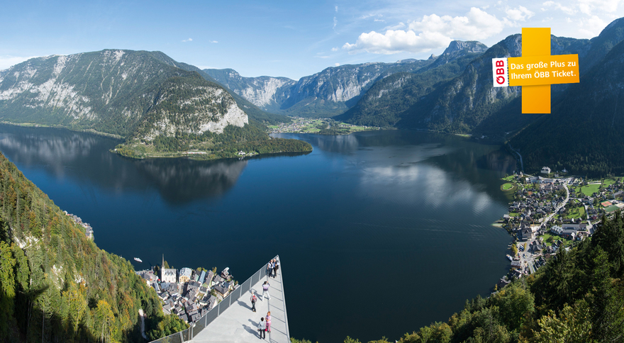 World heritage view in Hallstatt