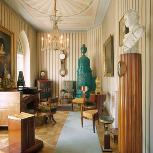 Biedermeier room