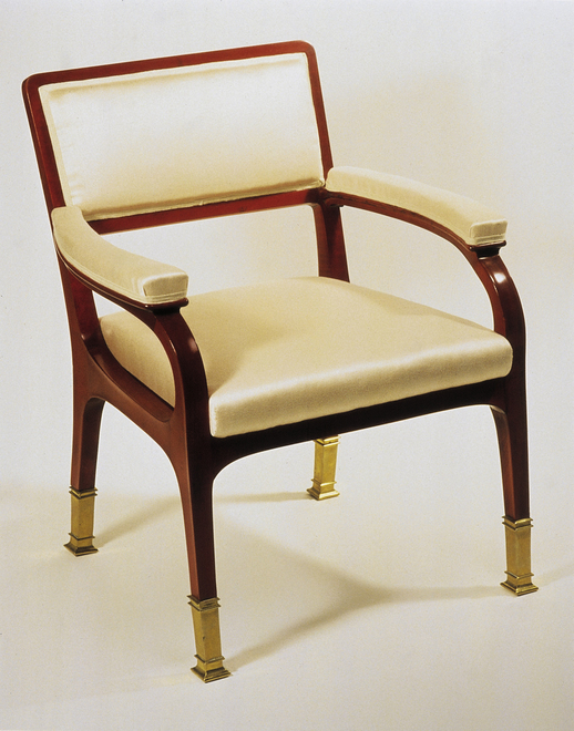 Chair  made by Wiener Werkstaetten (Private Collection in Vienna)